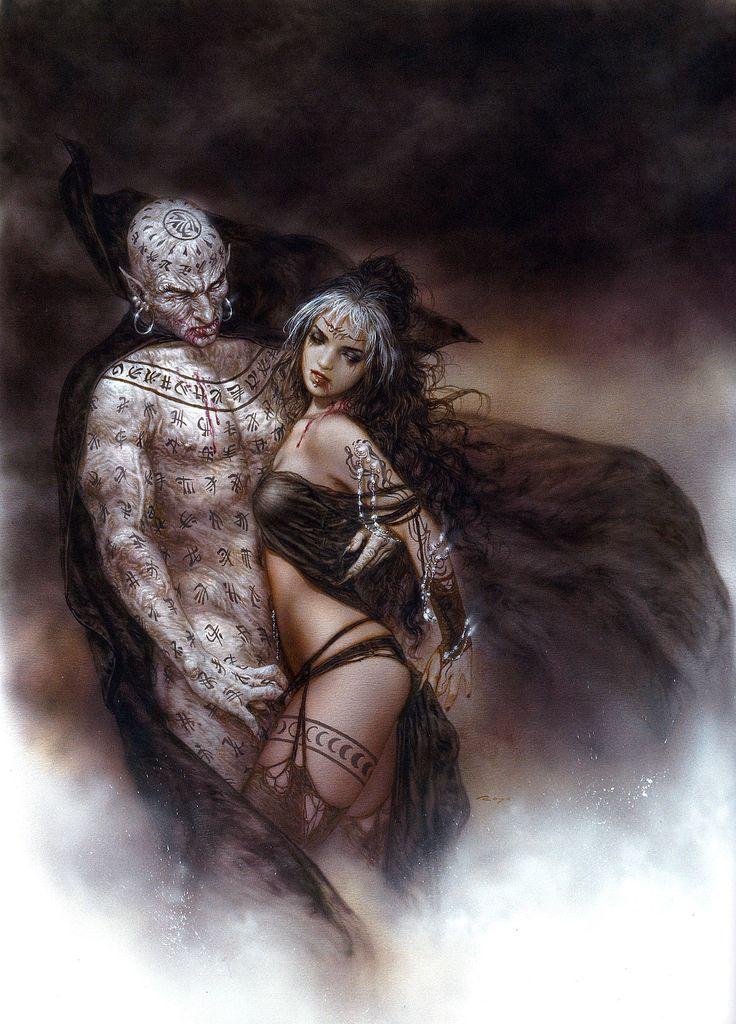 Luis Royo - Nosferatu's Kiss