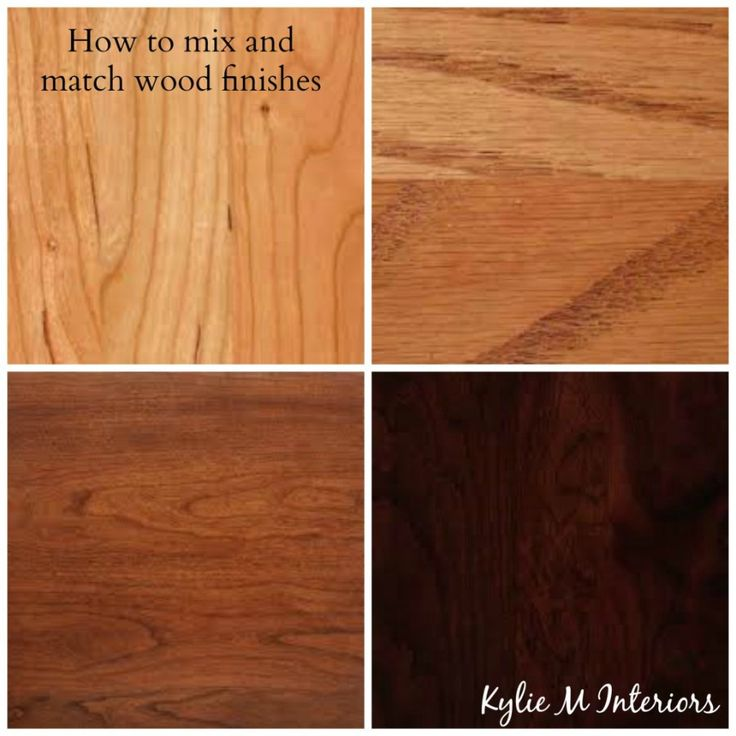 How To Mix Match And Coordinate Wood Stains Undertones