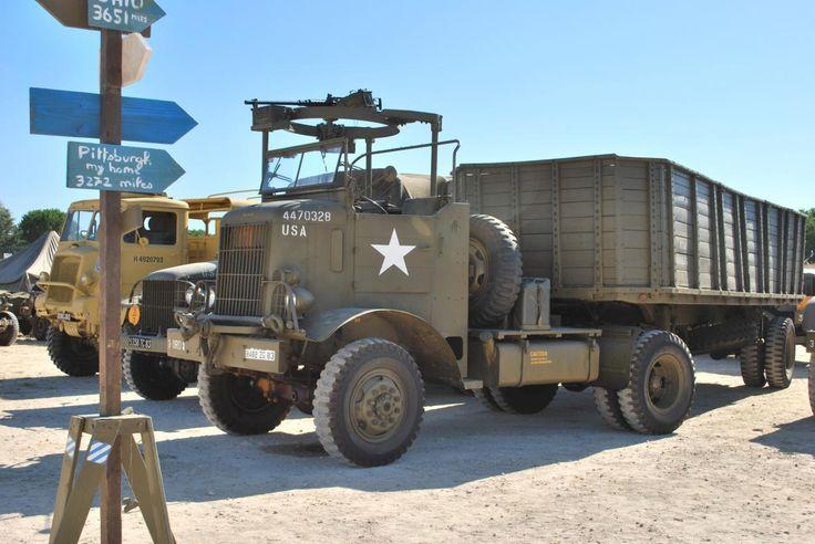 Autocar WW2 WW2 Trucks Pinterest