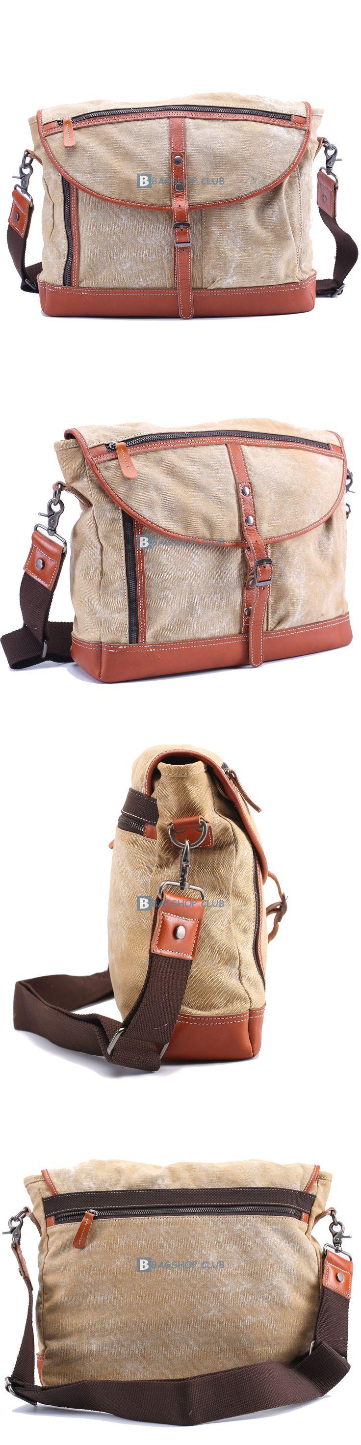 $66.69 Messenger Bags For SchoolCanvas Shoulder Bag Men