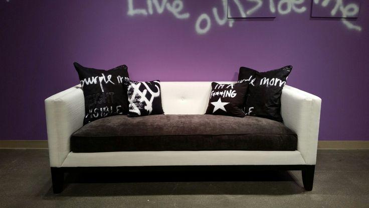Marcel Sofa by modlifecollection.com #furniture #sofa #madeinusa #custom #modlife #modmom #sharktank #lvmkt #interiors #modern