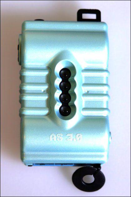 Lomografia SuperSampler niebieski gumowy aparaty lomo sklep internetowy foto-net.pl