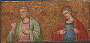 "New artwork for sale! - "" Two Apostles   Fragment Of Predella   by Dalmatian "" - http://ift.tt/2nX2jIJ"