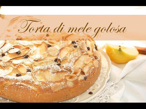 Torta di mele golosa  Le ricette di DELIZIEePASTICCi - YouTube