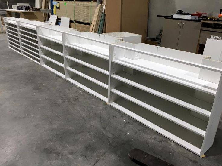 Sneak peak at the new wrap cabinets being made for the studio. Can't wait...