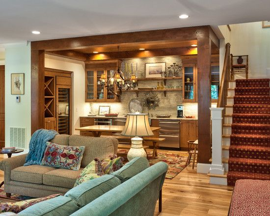 Traditional Basement Design, Pictures, Remodel, Decor And Ideas   Page 31