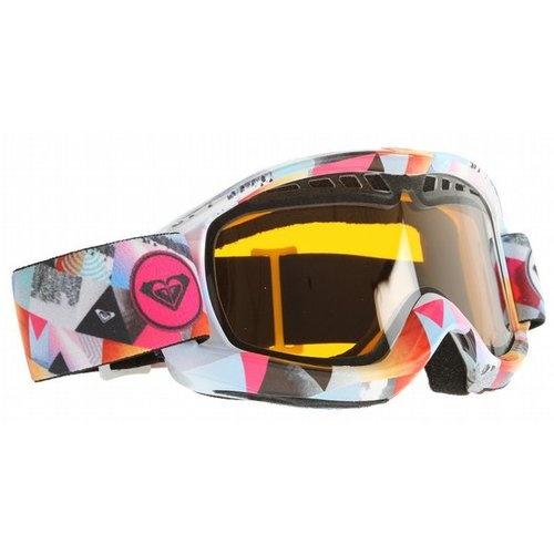 Roxy Broadway Art Snowboard Goggles Snowboard/Orange Lens Women's