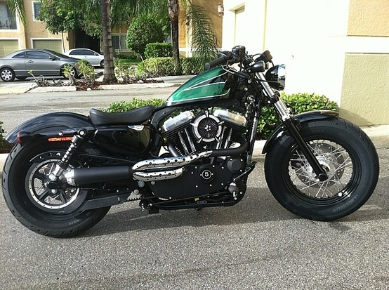 sportster fat bob motorcycles pinterest bobs. Black Bedroom Furniture Sets. Home Design Ideas