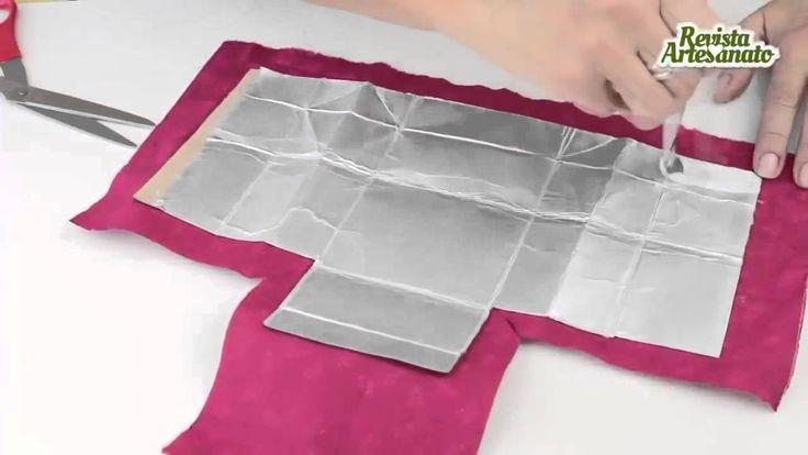 Como Fazer Carteira Com Caixa de Leite Passo a Passo