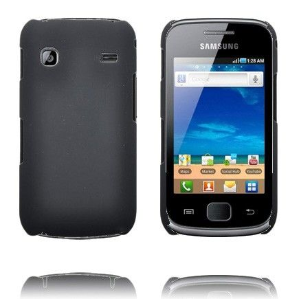 Hard Shell (Musta) Samsung Galaxy Gio Suojakuori