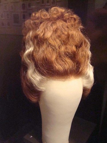 The original wig worn by Elsa Lanchester in BRIDE OF FRANKENSTEIN (1935).
