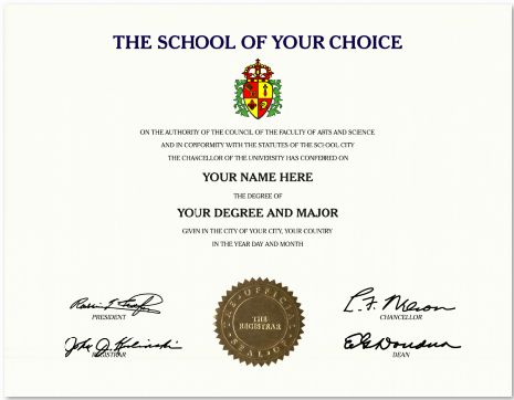 Custom diploma offers you design your self fake Certificates Gold Seals and Crests stunning Designs, Realistic Wording and Signatures Email-Only $69 -, Hard Copy Shipped Fast $99.