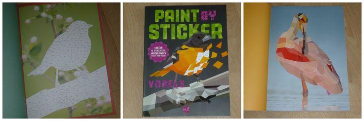 Plak de stickers in de juiste vakjes en maak zo een kunstwerk met mozaïek effect. Verkrijgbaar in Vogels en Meesterwerken. Leuk voor kinderen en volwassenen