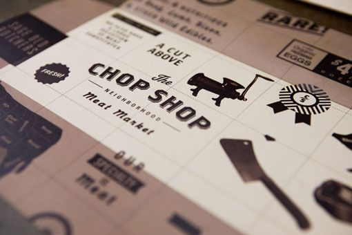 The Chop Shop: Logos, Graphic Design, Honest Don S, Shops, Meat, Branding, Butcher Shop