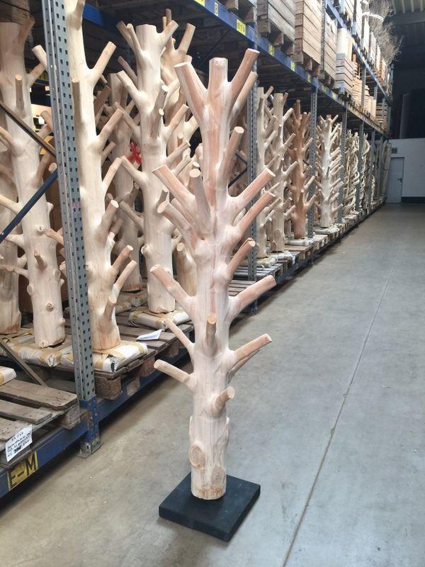 Garderobe Baumstamm Dekor Garderobe Baum Kunst Auf Holz