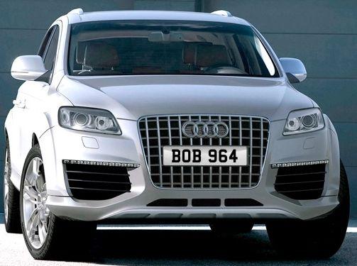 BOB 964 number plate for sale £8,800 no vat
