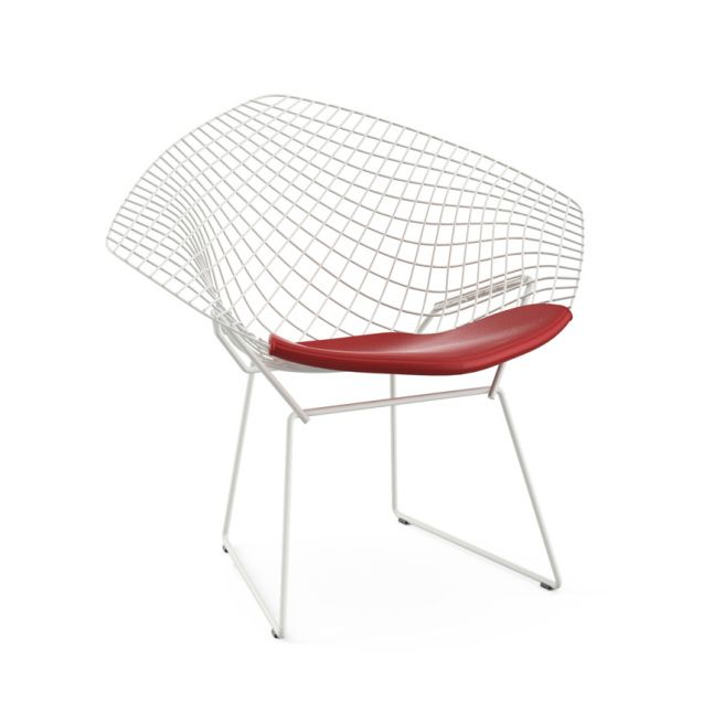 The Graceful And Sculptural Diamond Chair By Harry Bertoia Is An Astounding  Study In Space, Form And Function.