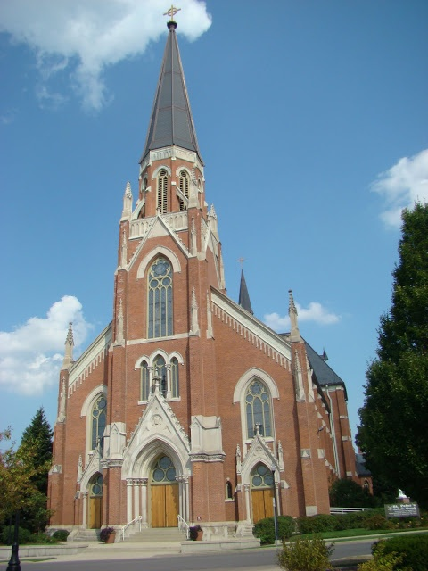 The beautiful St. Peter's Catholic Church in Fort Wayne Indiana ... a diamond in the rough