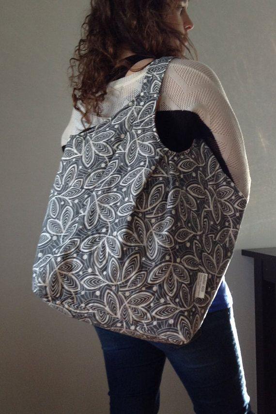 Emily  Grand sac fourre-tout cabas. Prêt à par Atelier455couture