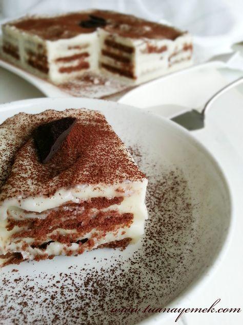 Kakaolu bisküvi pastası tarifi Malzemeler: - 2 paket kakaolu bisküvi ( Ben eti marka kakaolu bisküvi kullandım ) - 1 yemek kaşığı kakao...