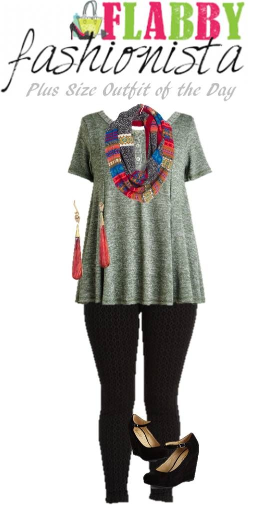 Plus Size Outfit of the Day – Bold Accessories
