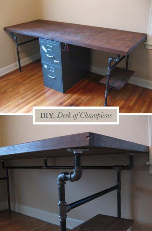 High Quality Metal Pipe   Building A Desk