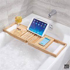 Bathtub Caddy - Badekarshylde - Bambus
