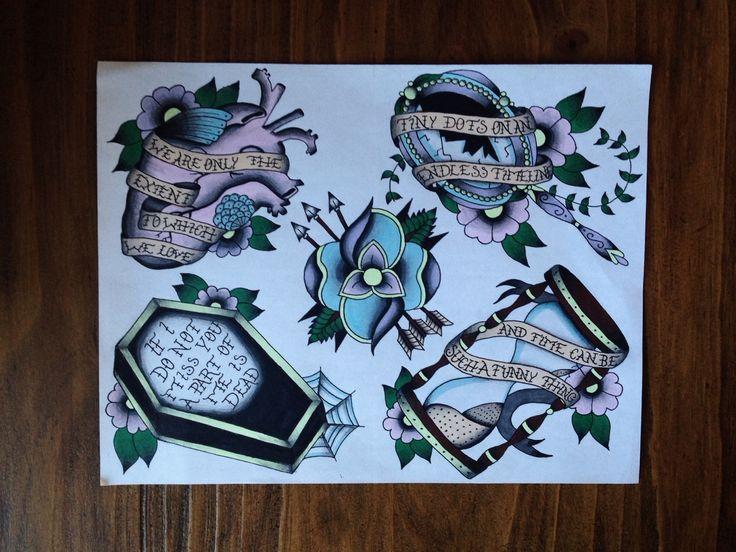 la dispute songs as tattoos flash