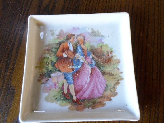Limoges France Trinket Tray by CreuseCurios on Etsy, €14.00