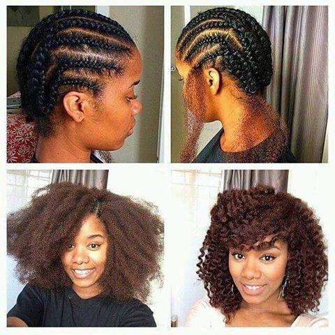 Les 25 meilleures id es de la cat gorie coiffure crochet braids sur pinterest les cheveux pour - Crochet braid tresse ...