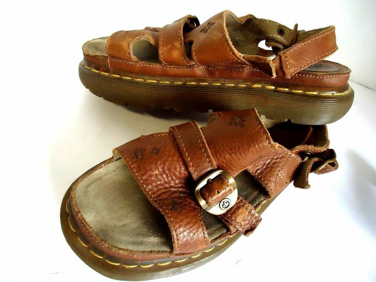 Women s Dr. Martens Air Walk Sandals Shoes Strappy Leather Fisherman
