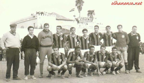Equipa de 1963764 no velho Padinha.