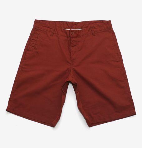 WeSC Burnt Henna Shorts - wear with rolled up hem!