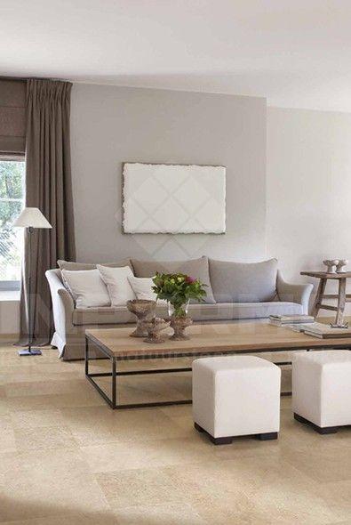 keramische vloertegel, imitatie natuursteen, grijsbeige keramische tegel, tegel woonkamer