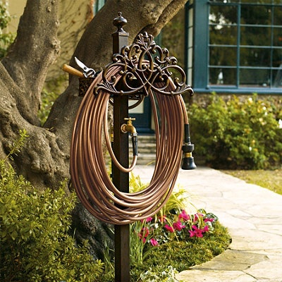 Awesome Classic Filigree Hose Station   Frontgate