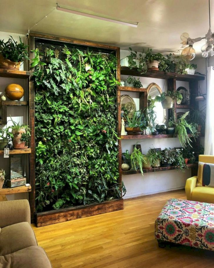 12 Astonishing Indoor Wall Garden Ideas For More Home Fresh Wall Garden Indoor Vertical Garden Wall Room With Plants
