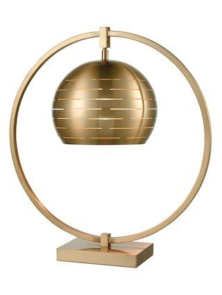 Atmospheric Circulation Table Lamp by Artistic Home & Lighting | cafe bronze | Gilt