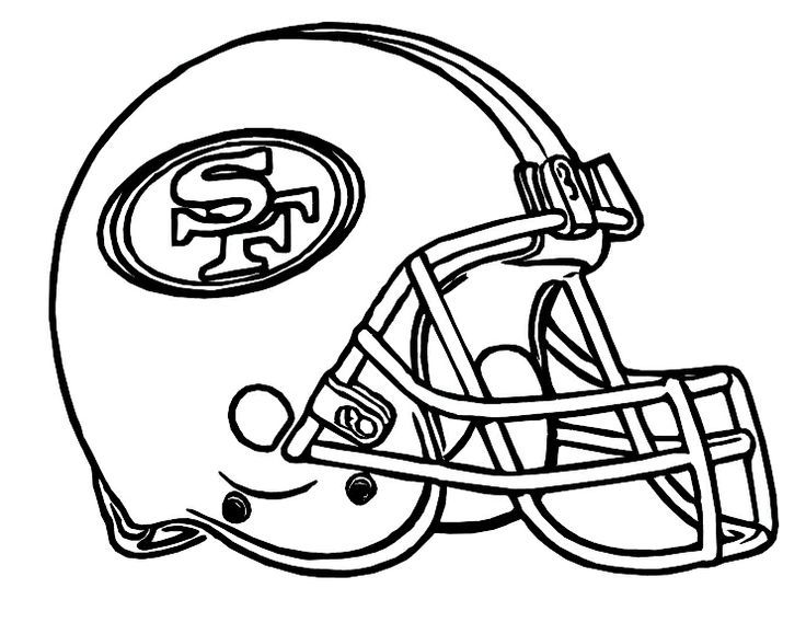49ers Coloring Pages To Print Nfl Green Bay Packers Logo S