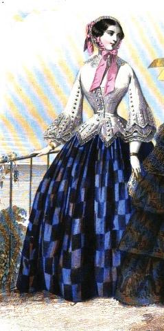 1854. Le Moniteur de la mode.