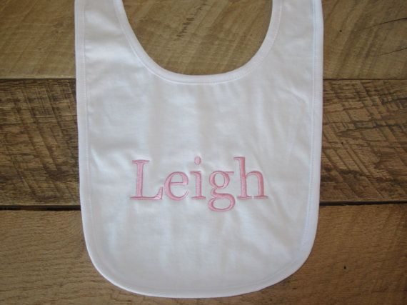 21 best personalized baby blankets images on pinterest baby personalized baby bib monogrammed personalized gifts baby gifts monogram baby bibs baby girl gift monogram baby shower white bib negle Gallery