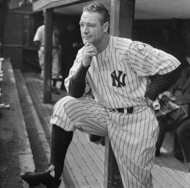 AL First Base: Lou Gehrig The Iron Horse played in seven World Series, winning six. In 1928 and 1932, Gehrig hit over .500 in Series play, going 15-for-28 with seven home runs. In 34 at-bats, Gehrig hit .361 and produced a 1.214 OPS. Eight times, Gehrig scored the game-winning run for the Yankees in Series play.