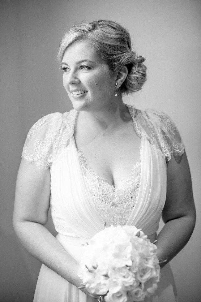 De sublimes robes de mariées pour femmesrondes !