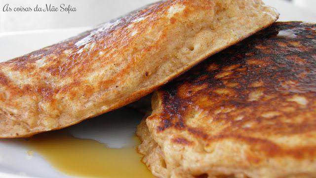 Oats and yogurt pancakes