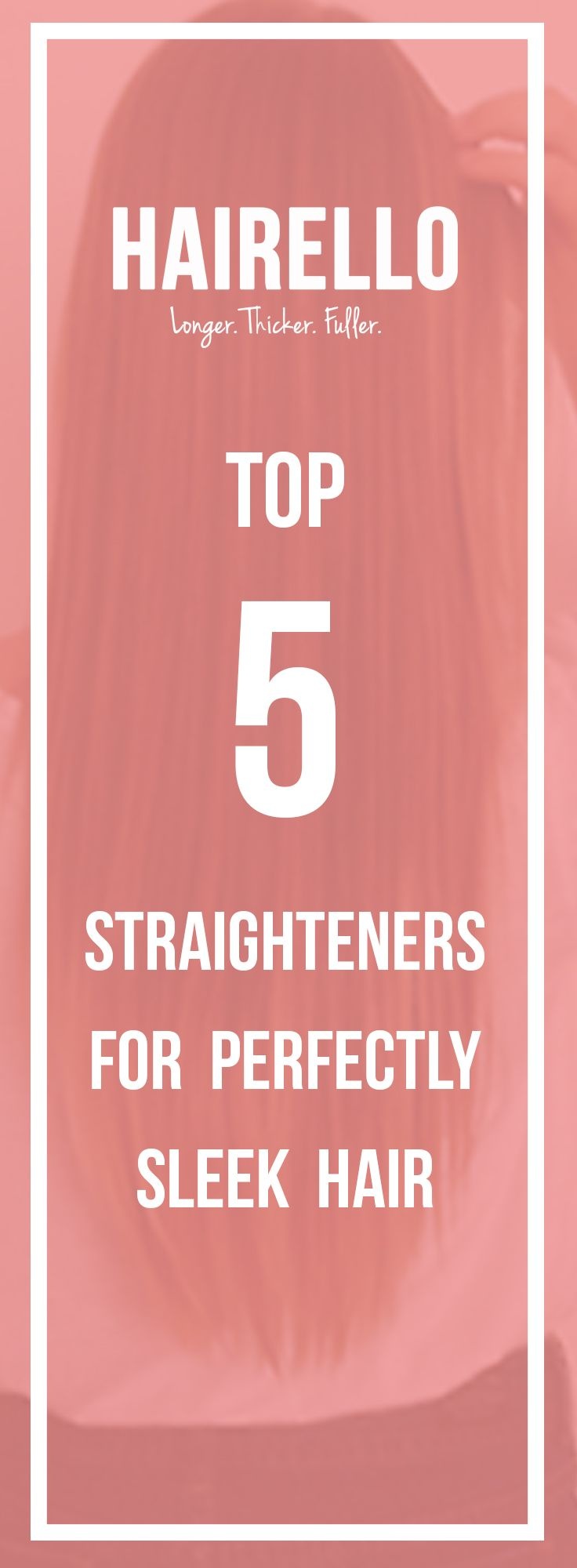 We've rounded up some of the best straighteners to tackle your frizz! Check out our Top 5 Straigteners on the Hairello Blog <3