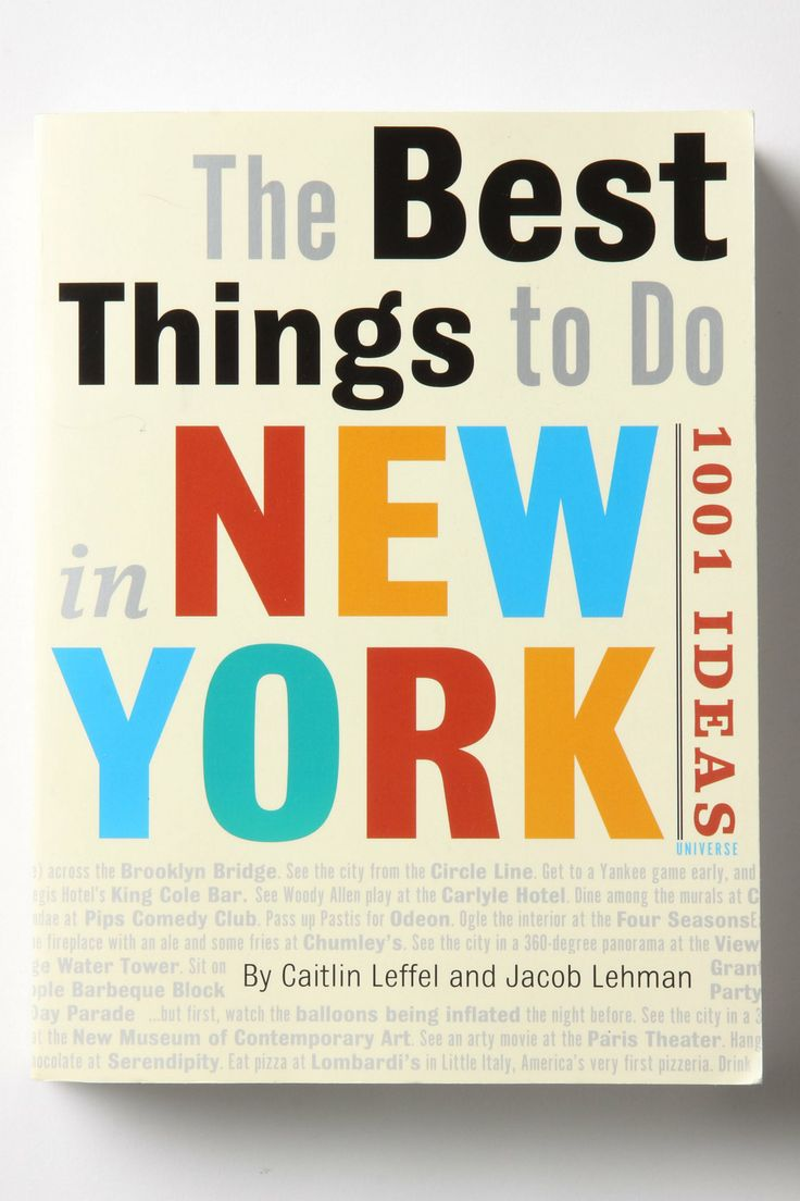 90 best cookbooks coffee table books images on pinterest coffee the best things to do in new york 1001 ideas fandeluxe Image collections