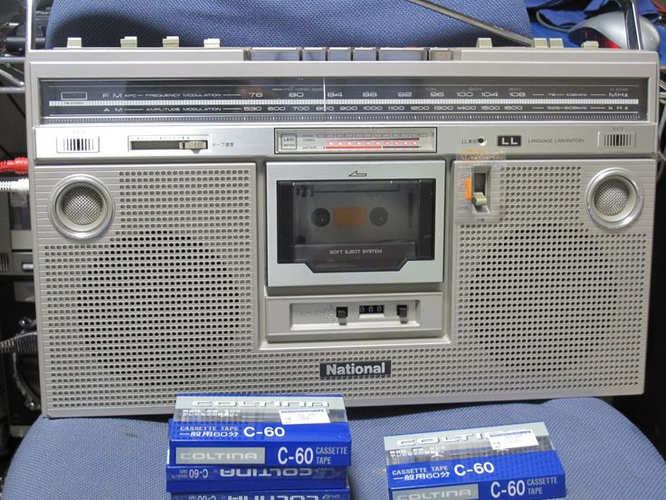 Created in 1979, D250190 was introduced as the National RX-5200 and sold for ¥56,800 in 1982.