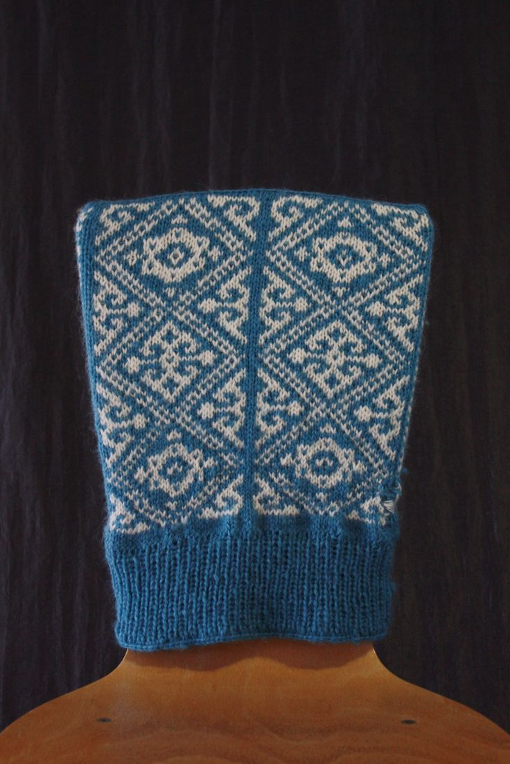 Norwegian pullover made by Tuisku