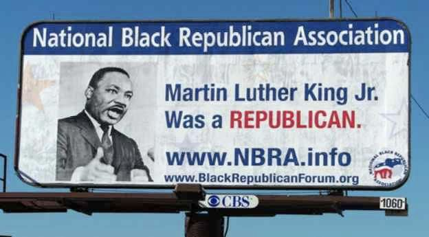 Was Martin Luther King Jr. a registered Republican? Yep he sure was.   Opinion - Conservative