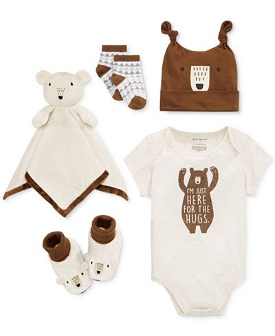 First Impressions Bear Hugs Bundle, Baby Boys (0-24 months), Only at Macy's