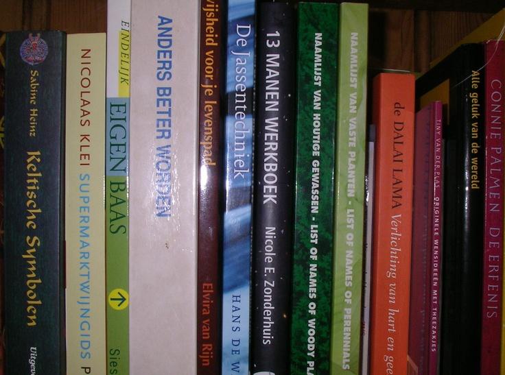In de boekenkast van Geertje Mol